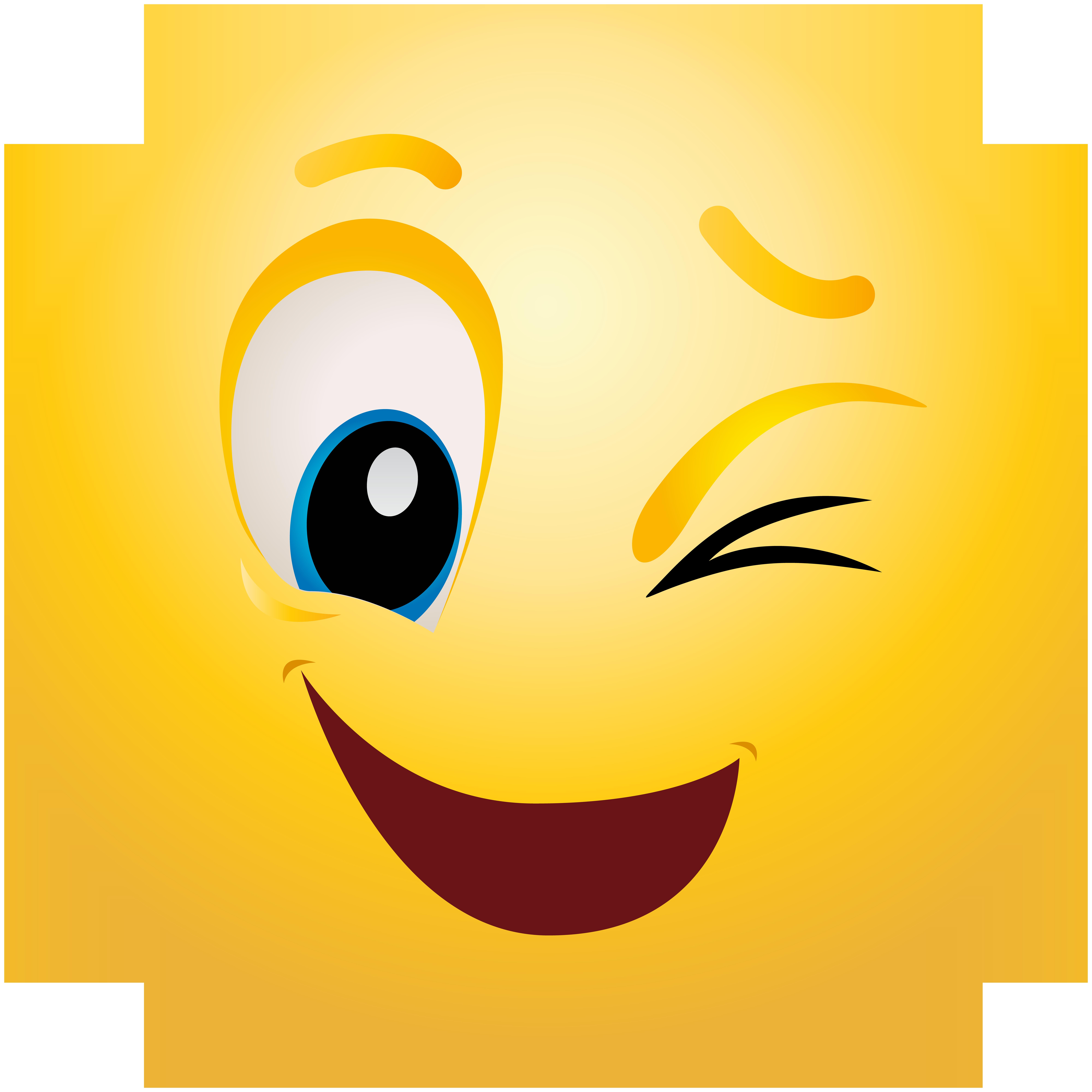 Winking emoji winking emoticon clip art web clipart.