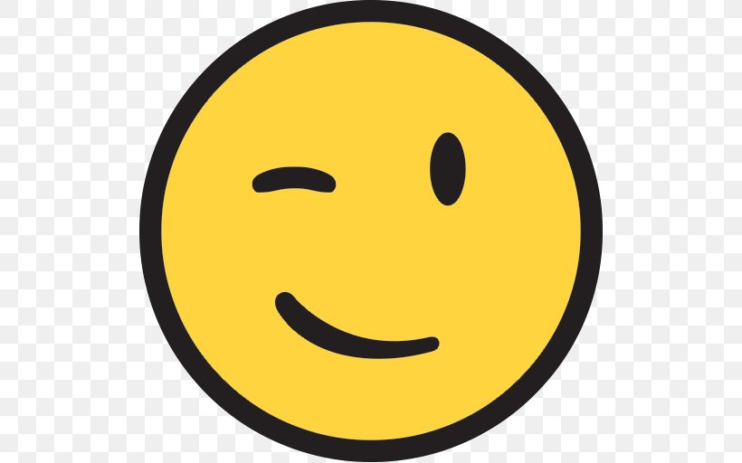 Smiley Emoticon Wink Emoji Clip Art, PNG, 512x512px, Smiley.