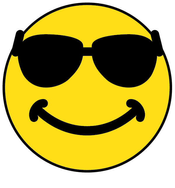 Smiley Faces With Sunglasses.