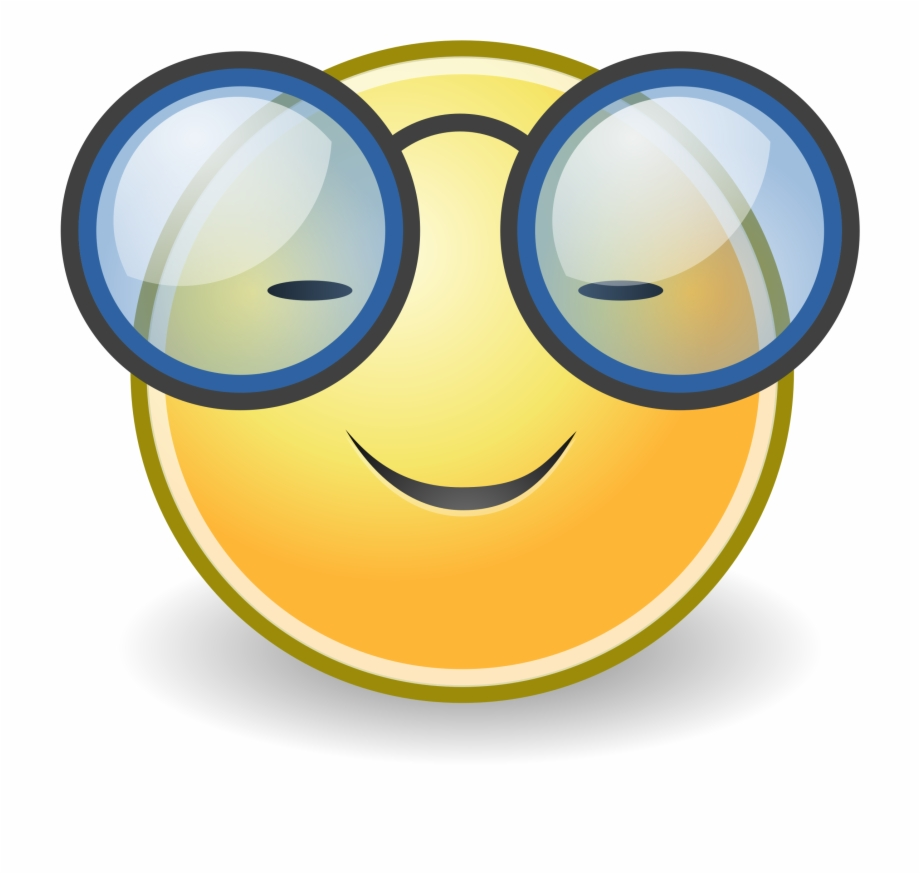 This Free Icons Png Design Of Tango Face Glasses.