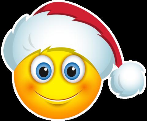 Santa hat emoji clipart images gallery for free download.