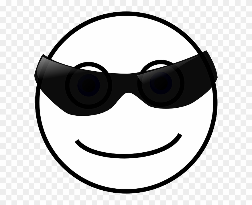 Free Vector Graphic Smiley Face Sun Sunglasses Free.
