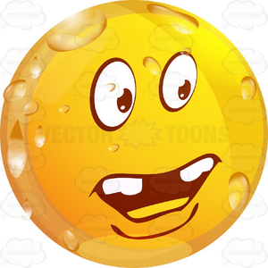 Smiley Face With Teeth Clipart.
