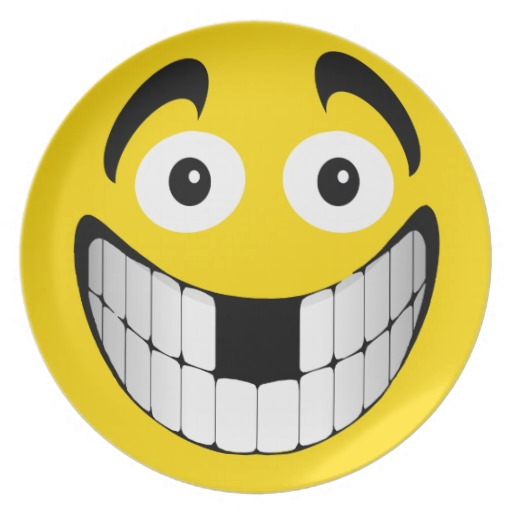 Big Grin Smiley Face Clipart.