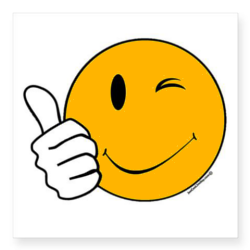 Happy Face Thumbs Up Clip Art.