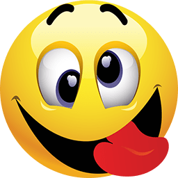 PNG Smiley Face With Tongue Out Transparent Smiley Face With.