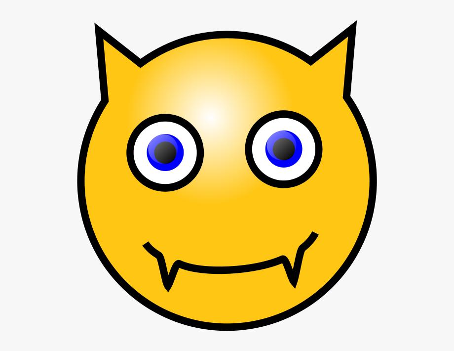 Devil Smiley Face Clipart , Png Download.