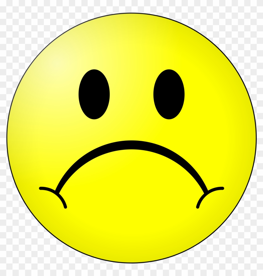 Sad Smiley Face Png.