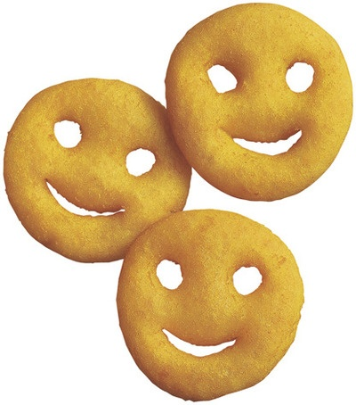 Smiley fries clipart - Clipground