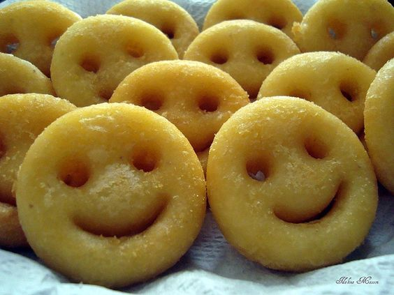 Smiley Face French Fries! Kids will love them!.