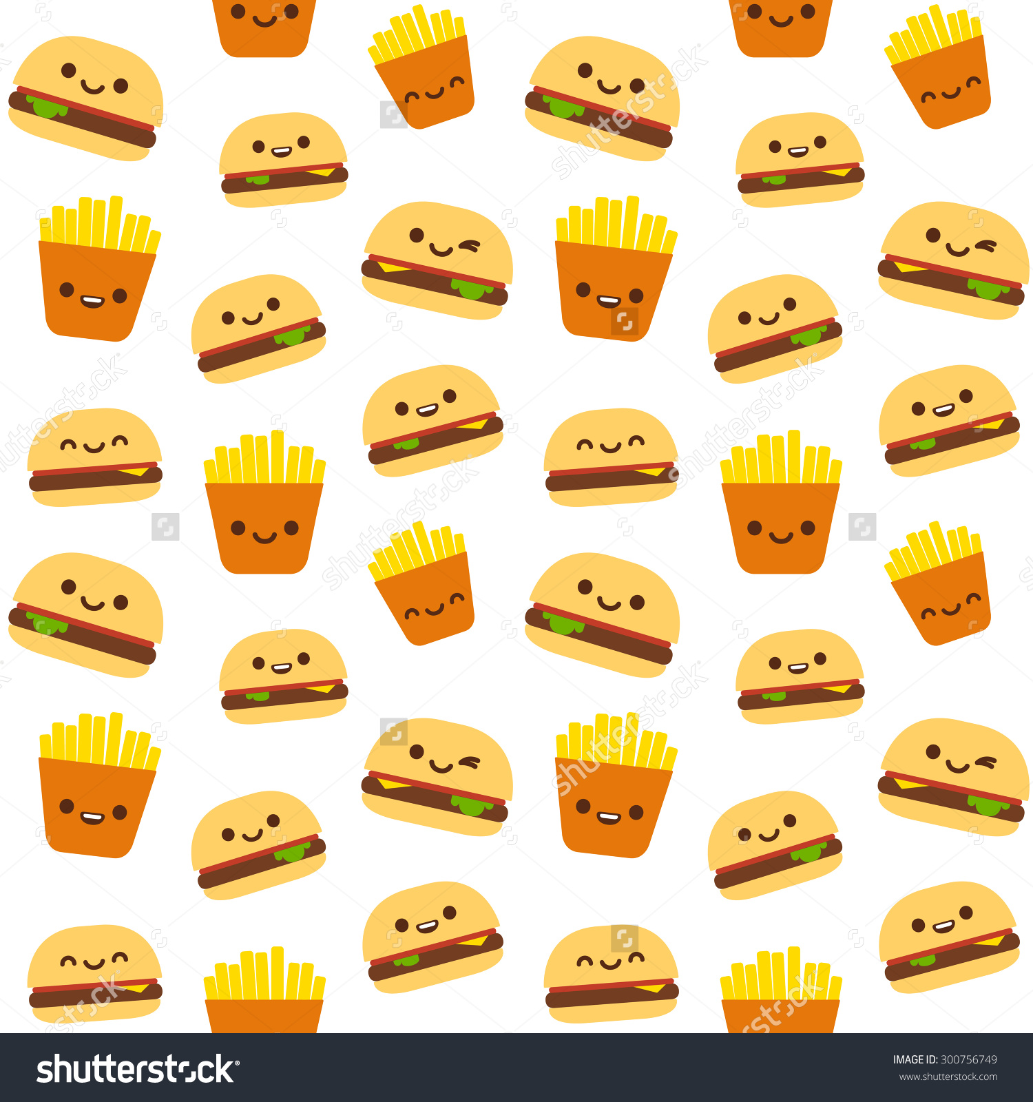 Smiley face food clipart.