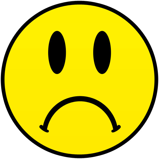 Sad face clipart png Transparent pictures on F.