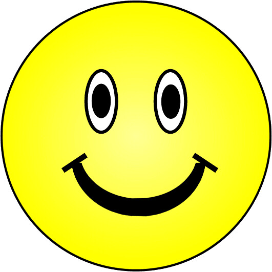 yellow smiley happy face lge PD.