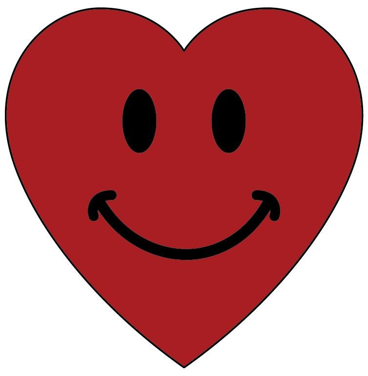 Smiley heart clipart 2 » Clipart Portal.