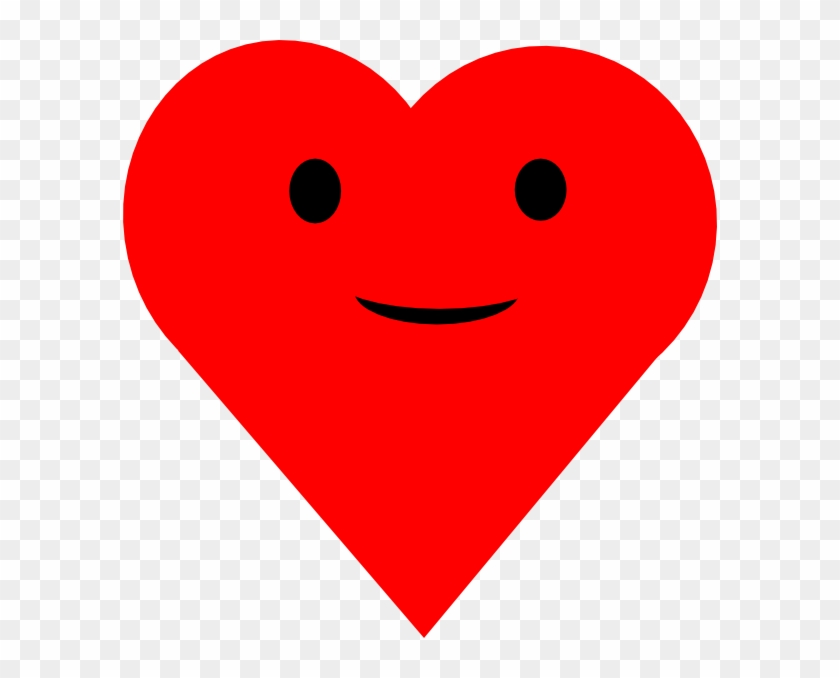 Smiling Heart Clipart.