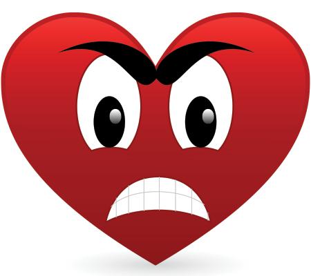 Angry Heart.