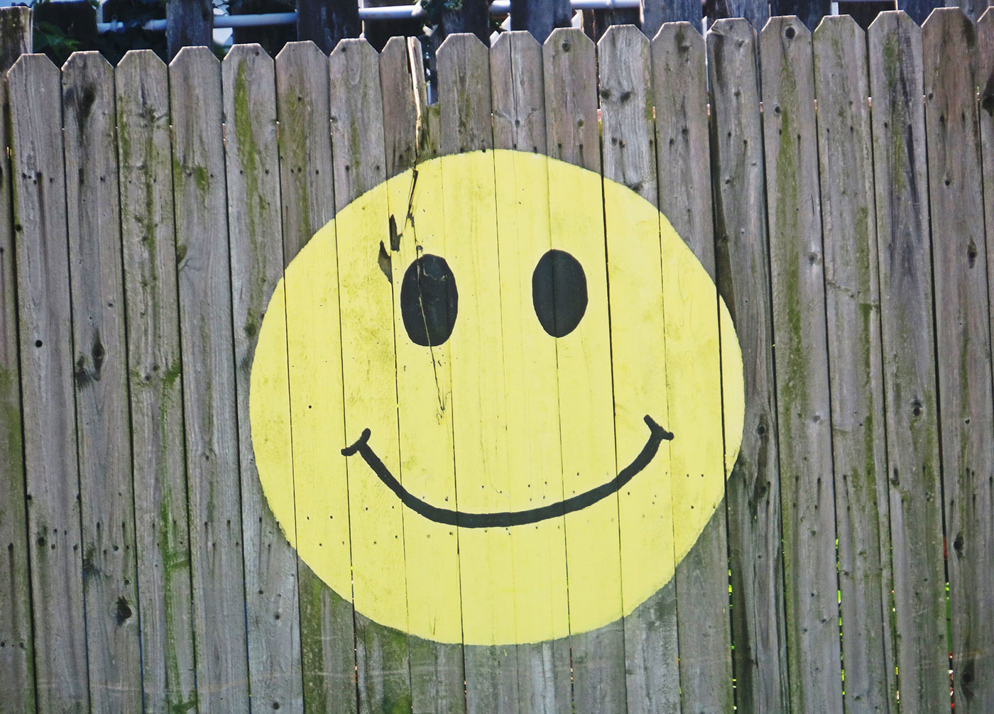 Smiley logo, the symbol for the acid house generation.