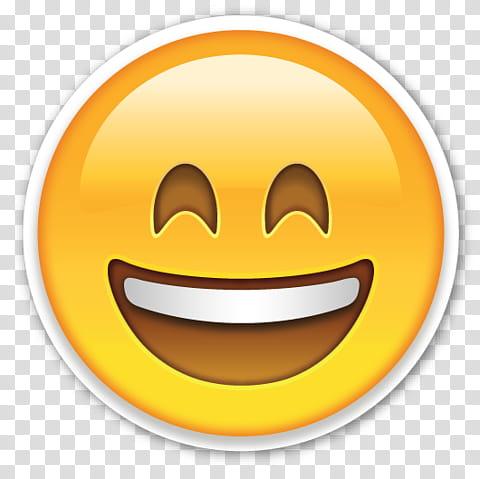 EMOJI STICKER , smiling emoji illustration transparent.