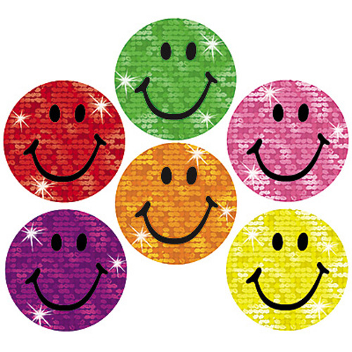 Smiley Sticker Clipart.