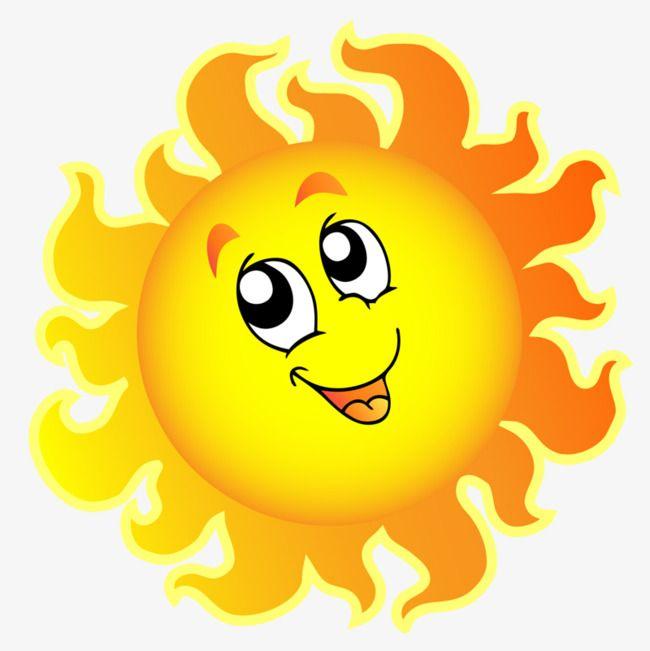 Smiling Sun, Sun Clipart, Sun, Smile PNG Transparent Image.