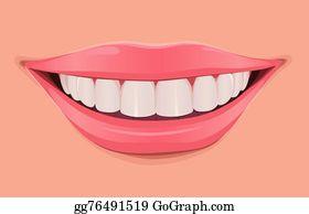 Smile Teeth Clip Art.