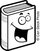 Smiling Book Clipart.