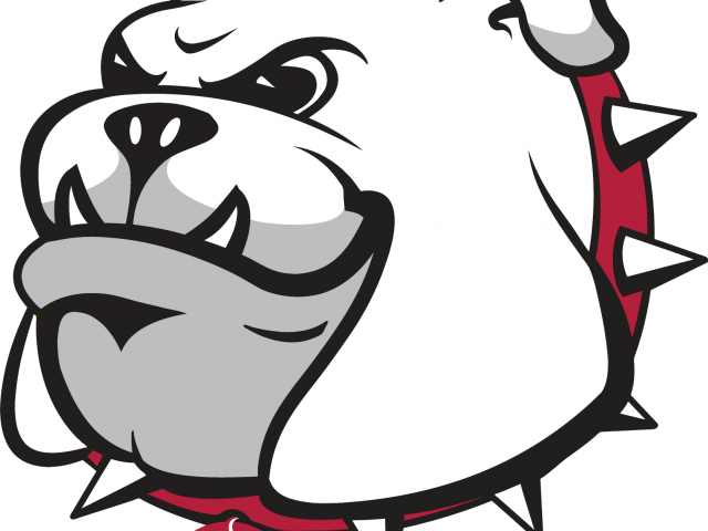 Drawn Bulldog College Mascot Clipart.