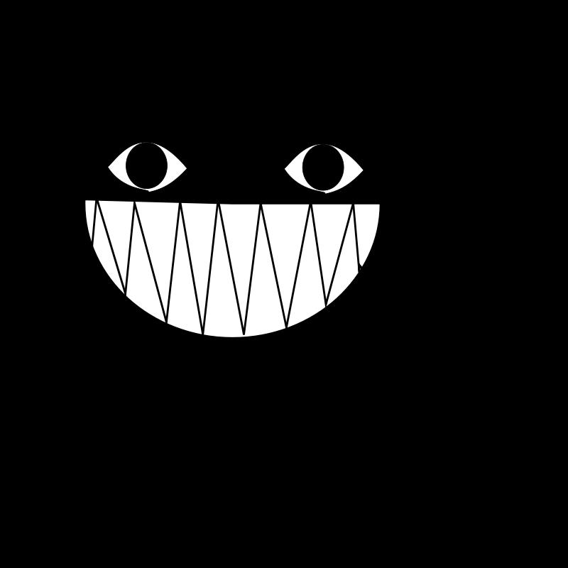 Free Clipart: Cat smile.