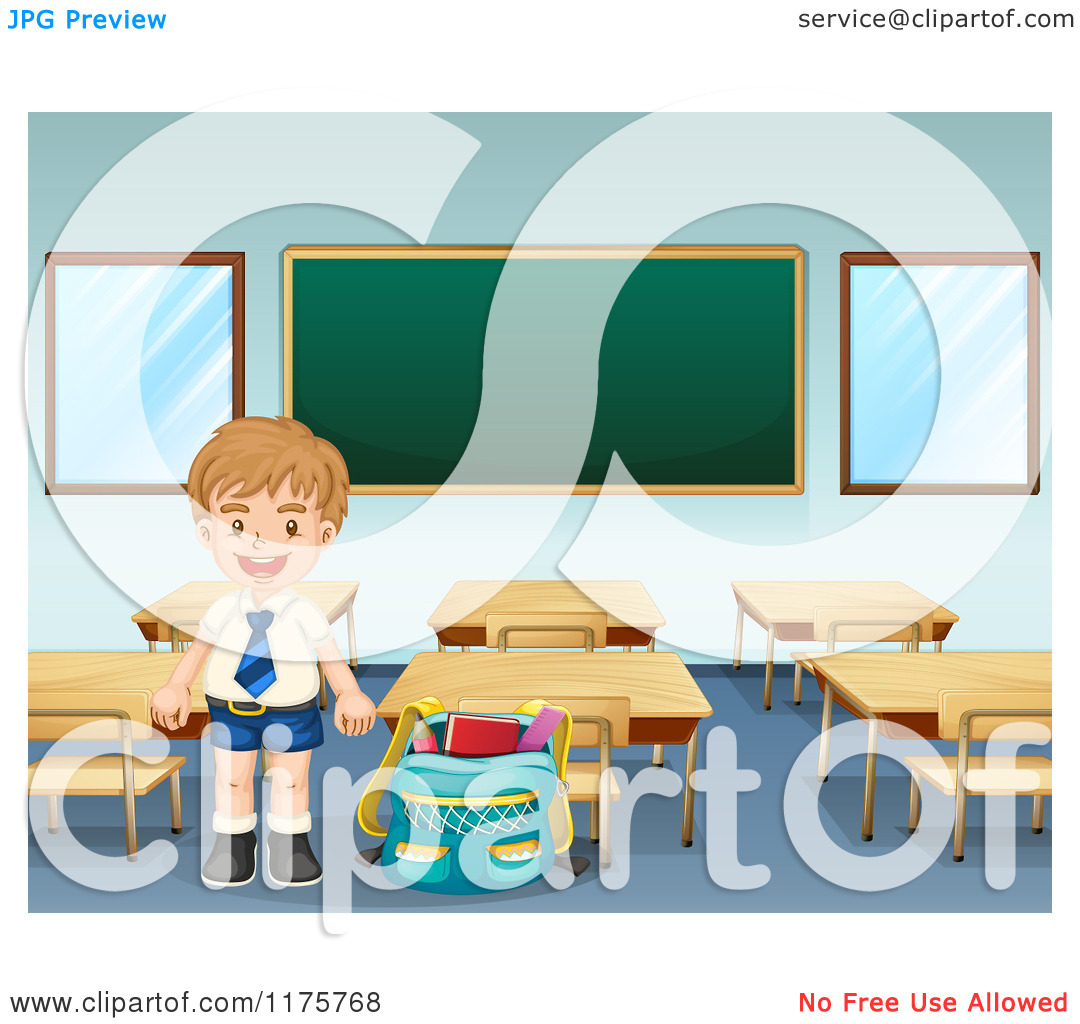 Smiling Class Clipart.