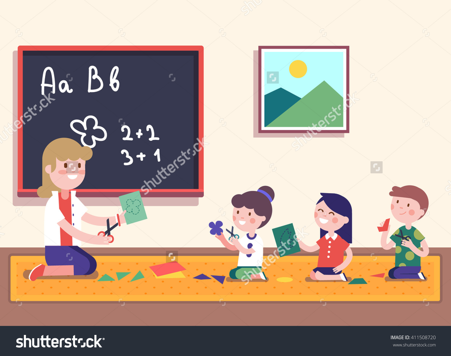 children learning math clipart - Clipground