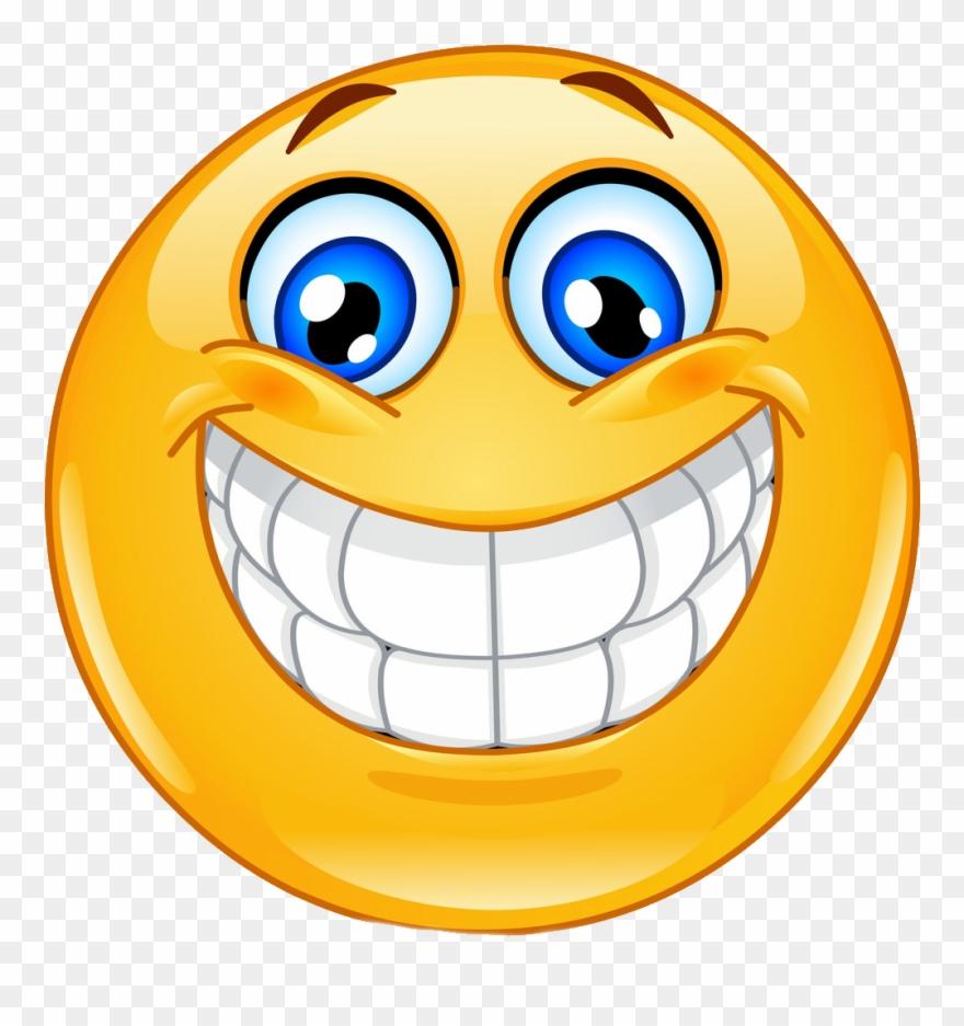 Smiley Face Big Smile Clipart (#1524932).