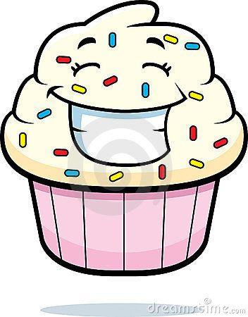 Cupcake Smiling.