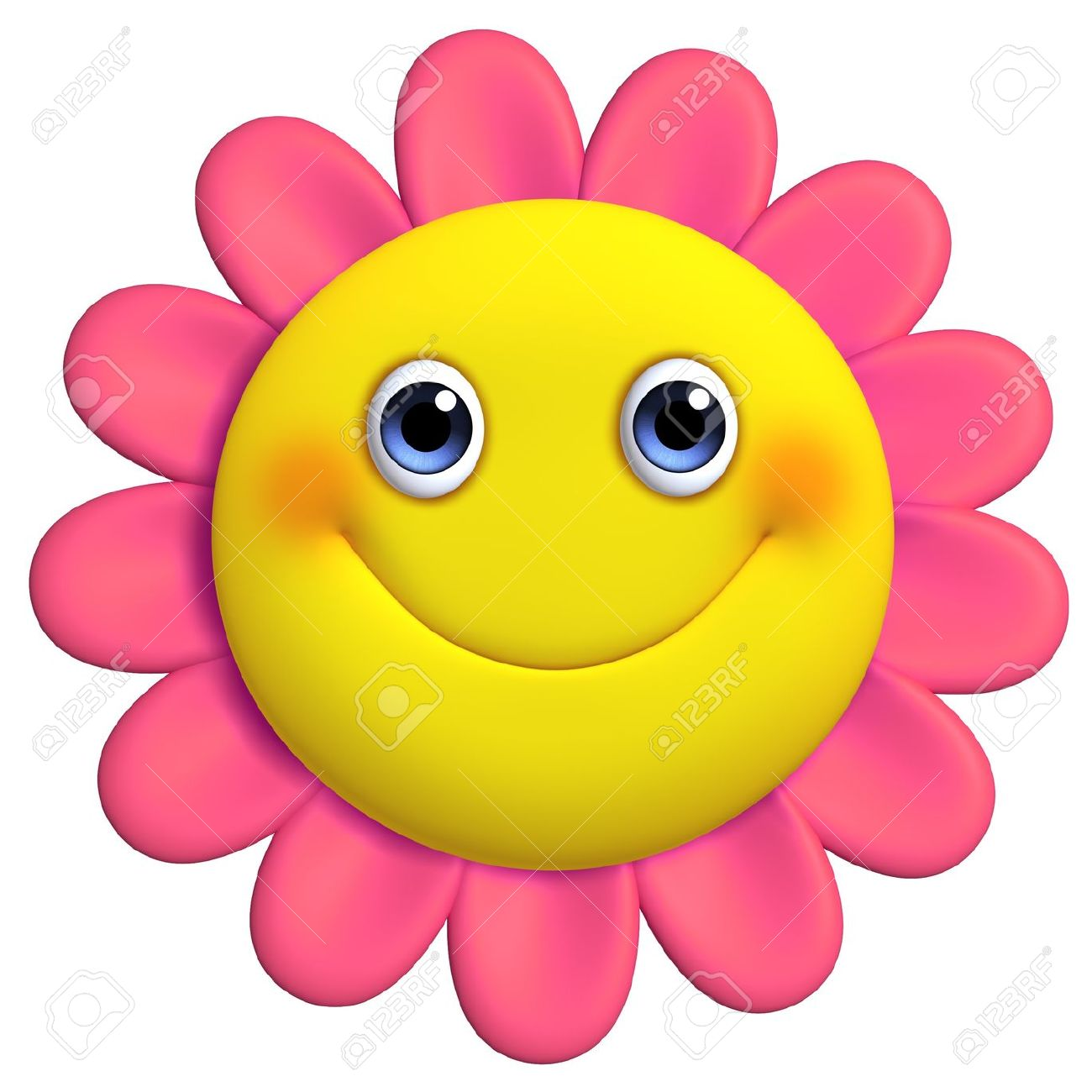 Showing post & media for Cute smiling flower cartoons.