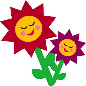 Smiling Flowers Clipart#2030234.