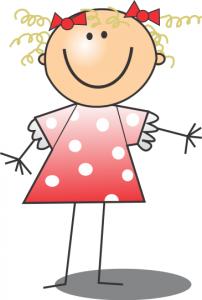Smiling Girl Clip Art Download.