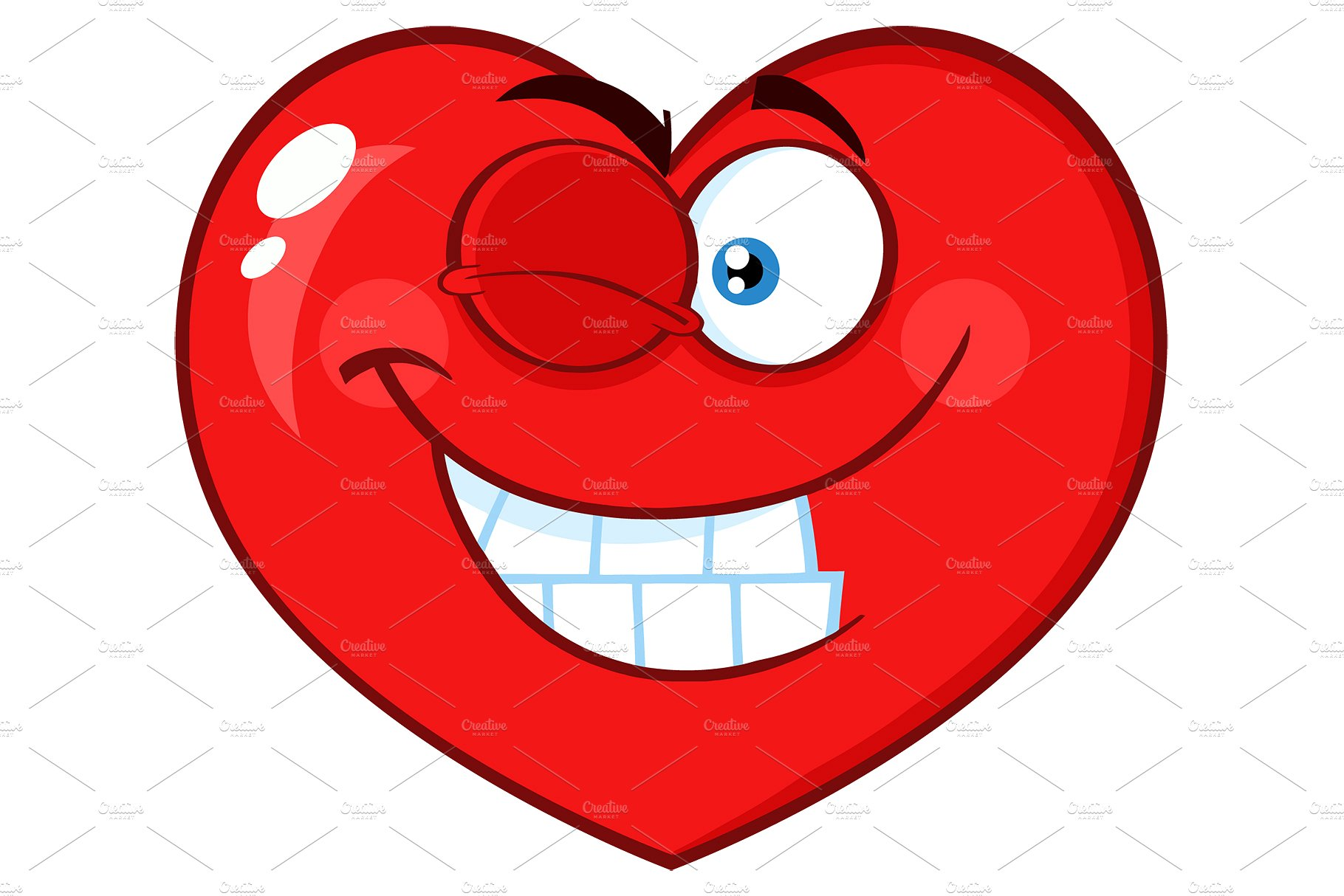 Smiling Heart Clipart Free Download Clip Art.