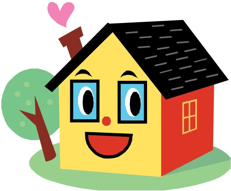 Clipart smile house, Clipart smile house Transparent FREE.