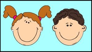 Smiling Kids In Window 2 Clip Art at Clker.com.