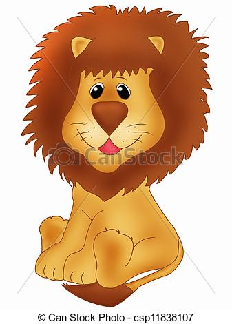 Stock Illustration of Lion.