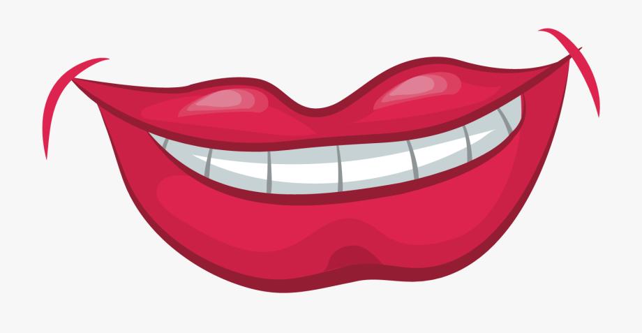 Clip Art Smile Lip Smiling Transprent.