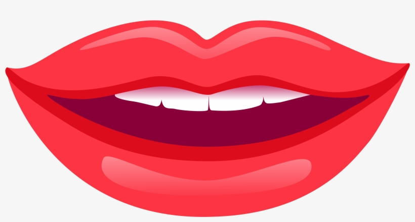 Optimized Smiling Lips Hq Cliparts.