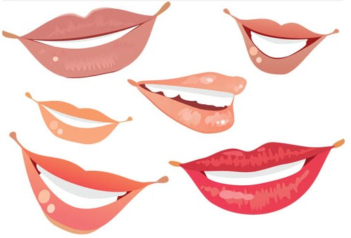 Free Smiling Lips, Download Free Clip Art, Free Clip Art on.