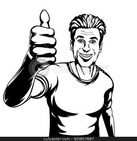 Images: Smiling Man Clipart.