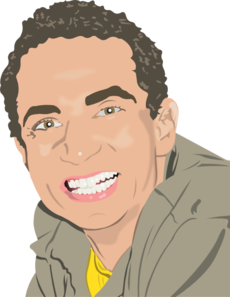 Man Smiling Clip Art at Clker.com.