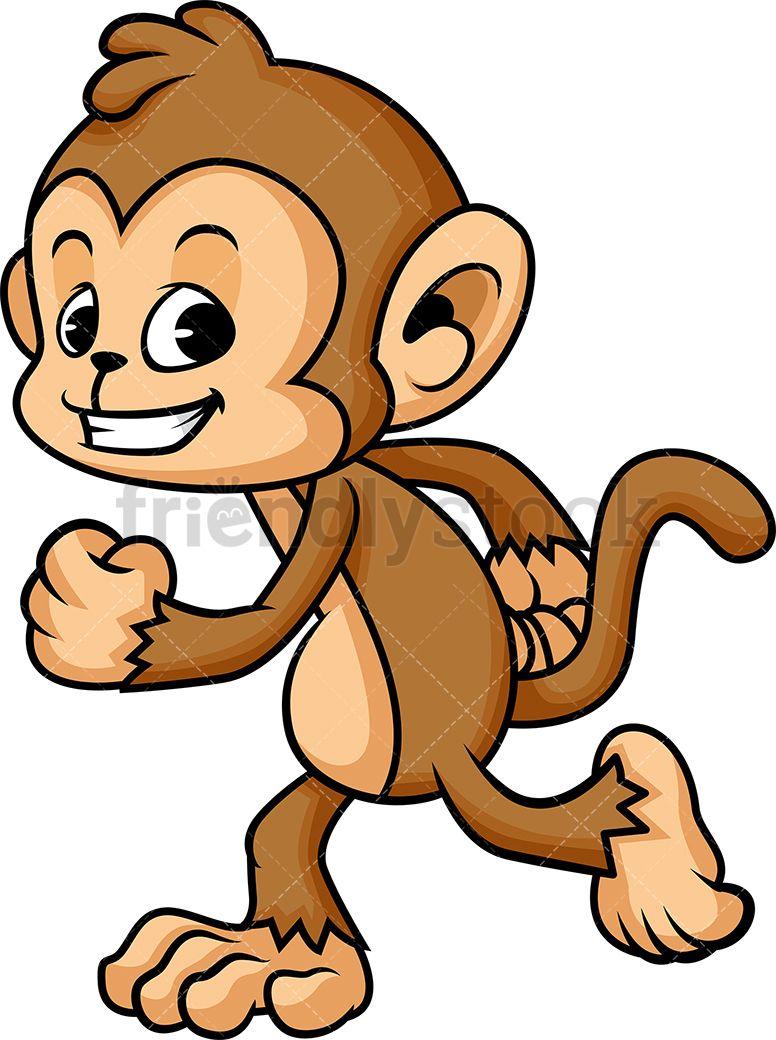 Monkey Running.