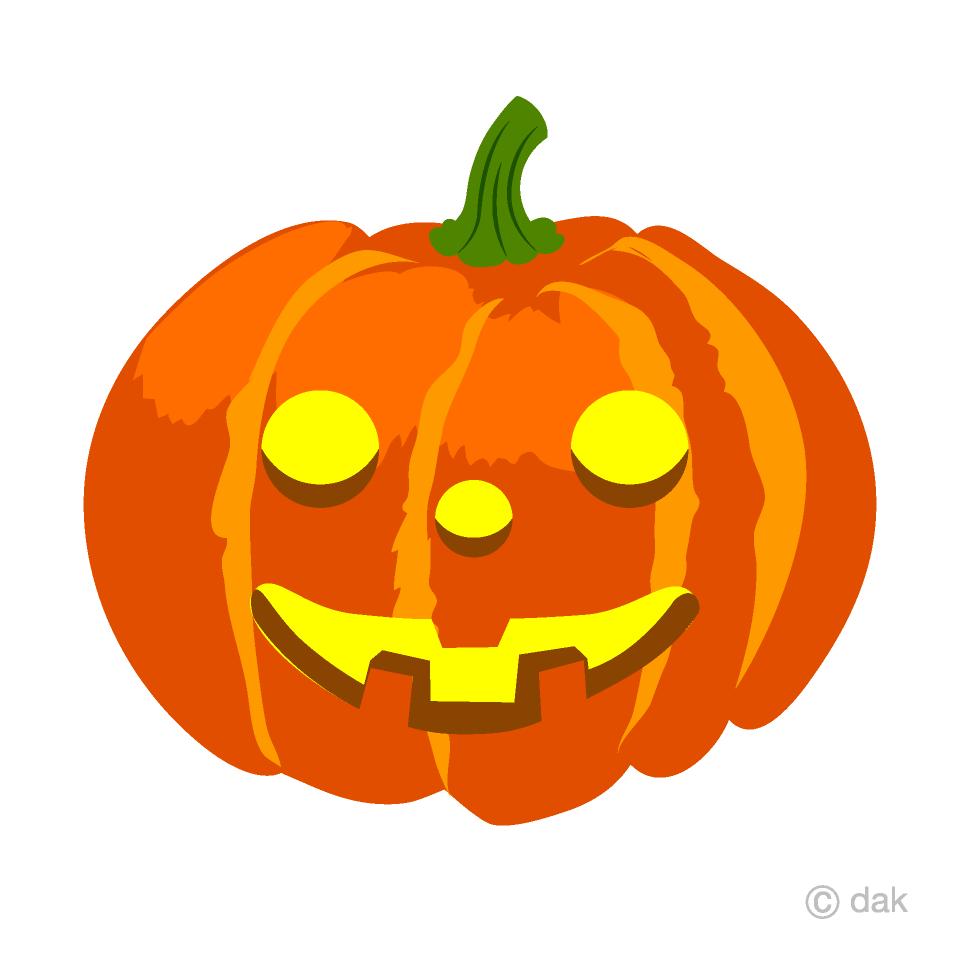 Free Glowing Smile Halloween Pumpkin Clipart Image Illustoon.