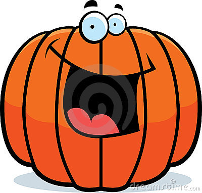 Pumpkin Smile Clipart.