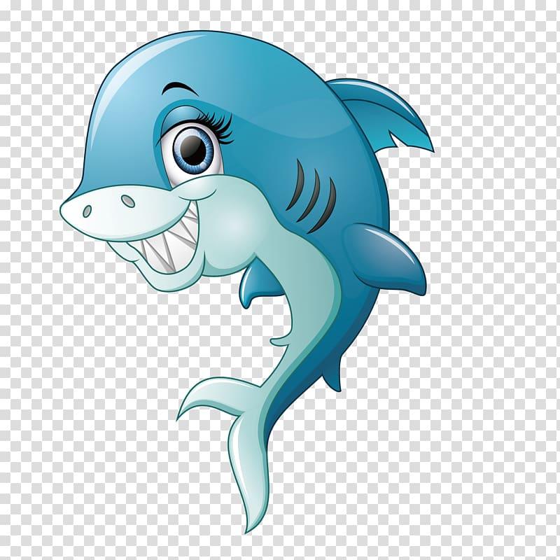 Shark Smile, Smiling shark transparent background PNG.