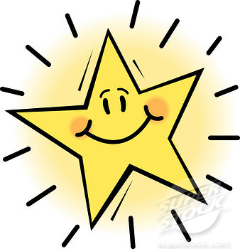 smiley face smiling star.