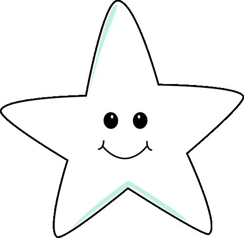 Smiling Star Clip Art.